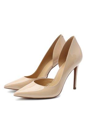 Женская кожаные туфли keke  MICHAEL MICHAEL KORS светло-розового цвета, арт. 40S0KEHP1A   Фото 1