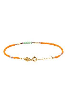 Женская браслет candy shop ANNI LU оранжевого цвета, арт. 180-01-05 | Фото 2