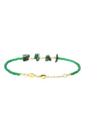 Женская браслет emmanuelle ANNI LU зеленого цвета, арт. 192-10-05 | Фото 2