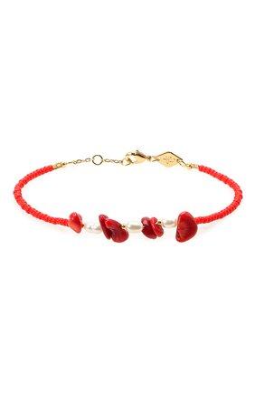 Женская браслет emmanuelle ANNI LU красного цвета, арт. 192-10-08 | Фото 1