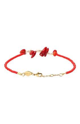 Женская браслет emmanuelle ANNI LU красного цвета, арт. 192-10-08 | Фото 2