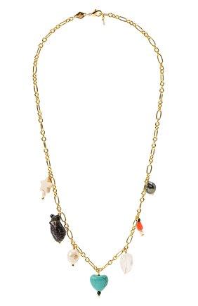 Женское колье vanessa ANNI LU золотого цвета, арт. 192-20-24 | Фото 1