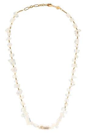 Женское колье ines ANNI LU белого цвета, арт. 192-20-26 | Фото 1
