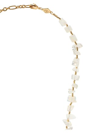 Женское колье ines ANNI LU белого цвета, арт. 192-20-26 | Фото 3 (Материал: Металл)