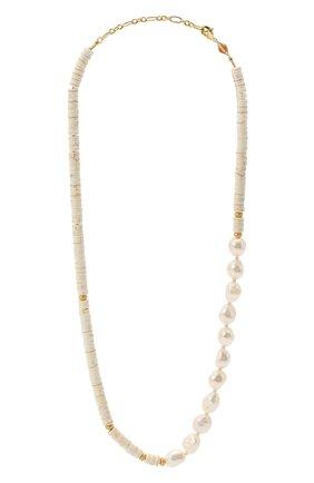 Женское колье the nomad ANNI LU белого цвета, арт. 201-20-27 | Фото 1
