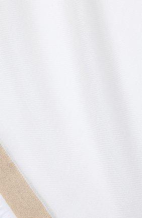 Женская шаль из кашемира и шелка LORO PIANA белого цвета, арт. FAE7233 | Фото 2