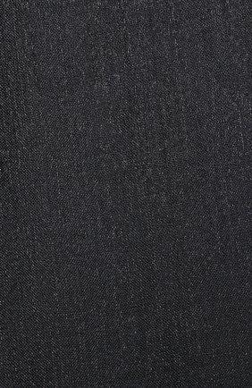 Мужские шарф из смеси кашемира и шелка BRUNELLO CUCINELLI темно-серого цвета, арт. MSCDAR097P   Фото 2