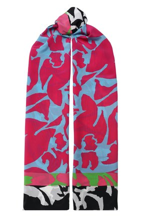 Мужские шелковый шарф ESCADA фуксия цвета, арт. 5033806 | Фото 1
