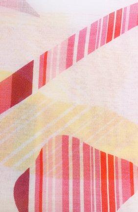 Мужские хлопковый шарф ESCADA SPORT белого цвета, арт. 5033741   Фото 2