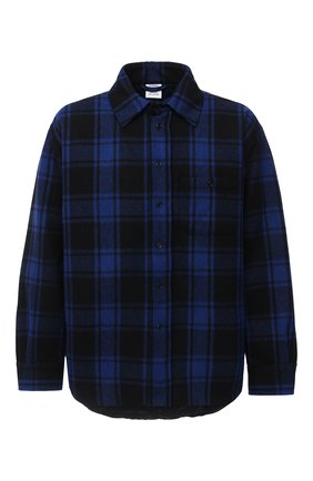 Мужская шерстяная куртка VETEMENTS синего цвета, арт. UAH21JA101 1213/M | Фото 1