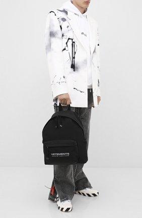 Мужской рюкзак VETEMENTS черного цвета, арт. UAH21BA254 1301/M | Фото 2