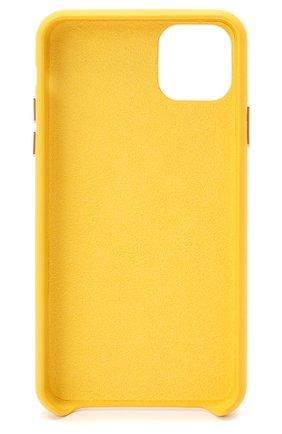 Мужской чехол для iphone 11 pro max VETEMENTS желтого цвета, арт. UAH21AC284 1373/M/IPH0NE 11 PR0 MAX | Фото 2