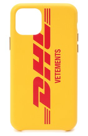 Мужской чехол для iphone 11 pro VETEMENTS желтого цвета, арт. UAH21AC284 1373/M/IPH0NE 11 PR0 | Фото 1