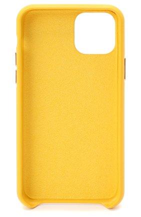 Мужской чехол для iphone 11 pro VETEMENTS желтого цвета, арт. UAH21AC284 1373/M/IPH0NE 11 PR0 | Фото 2