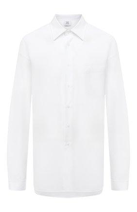 Женская хлопковая рубашка VETEMENTS белого цвета, арт. UAH21SH068 1008/W | Фото 1