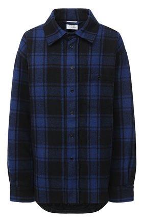 Женская шерстяная куртка VETEMENTS синего цвета, арт. UAH21JA101 1213/W | Фото 1