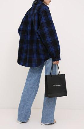 Женская шерстяная куртка VETEMENTS синего цвета, арт. UAH21JA101 1213/W | Фото 2