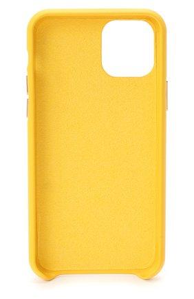 Мужской чехол для iphone 11 pro max VETEMENTS желтого цвета, арт. UAH21AC284 1373/W/IPH0NE 11 PR0 MAX | Фото 2
