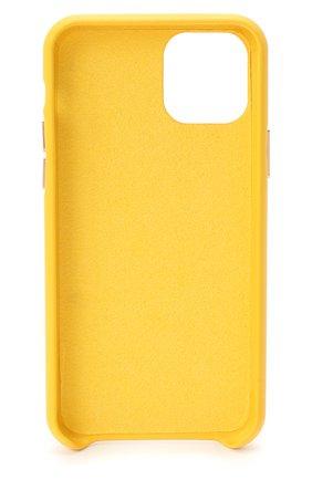 Мужской чехол для iphone 11 pro VETEMENTS желтого цвета, арт. UAH21AC284 1373/W/IPH0NE 11 PR0 | Фото 2