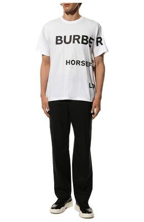 Мужские кожаные кроссовки gumboy VALENTINO черного цвета, арт. UY2S0B17/VRN | Фото 2 (Материал внутренний: Текстиль; Подошва: Массивная; Стили: Гранж)