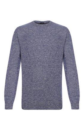 Мужской кашемировый свитер PAUL&SHARK темно-синего цвета, арт. I20P1070 | Фото 1