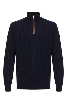 Мужской свитер PAUL&SHARK темно-синего цвета, арт. I20P1135 | Фото 1