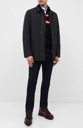 Мужская утепленная куртка PAUL&SHARK черного цвета, арт. I20P2036 | Фото 2