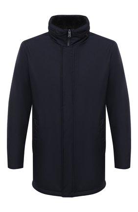 Мужская утепленная куртка PAUL&SHARK темно-синего цвета, арт. I20P2081 | Фото 1