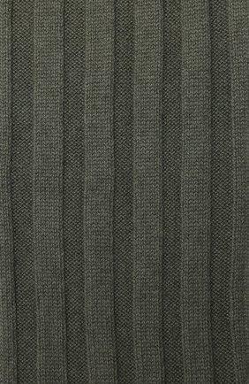 Мужской кашемировый шарф BRUNELLO CUCINELLI хаки цвета, арт. M2240819 | Фото 2