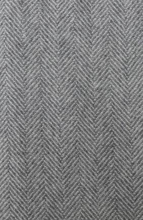 Мужской кашемировый шарф BRUNELLO CUCINELLI светло-серого цвета, арт. MSC642AG | Фото 2