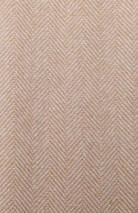 Мужской кашемировый шарф BRUNELLO CUCINELLI бежевого цвета, арт. MSC642AG | Фото 2