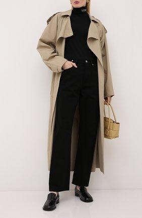 Женская шерстяной пуловер VALENTINO черно-белого цвета, арт. UB3KC16F5NU   Фото 2