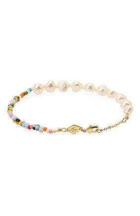 Женская браслет  pearly alaia ANNI LU разноцветного цвета, арт. 201-10-12 | Фото 2