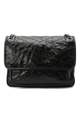 Женская сумка niki SAINT LAURENT черного цвета, арт. 633158/0EN04   Фото 1