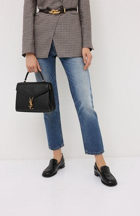 Женская сумка cassandra SAINT LAURENT черного цвета, арт. 623931/B0W0W | Фото 2