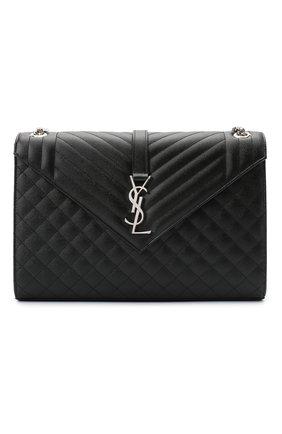 Женская сумка classic SAINT LAURENT черного цвета, арт. 600166/B0W92   Фото 1