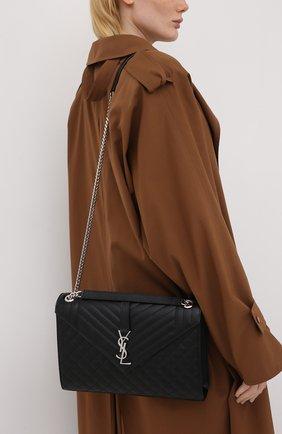 Женская сумка classic SAINT LAURENT черного цвета, арт. 600166/B0W92   Фото 2