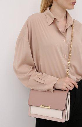 Женская сумка jade MICHAEL MICHAEL KORS розового цвета, арт. 30S9GJ4L9T   Фото 2