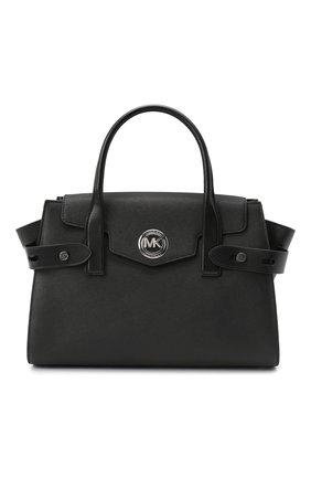 Женская сумка carmen MICHAEL MICHAEL KORS черного цвета, арт. 30S0SNMS3L | Фото 1