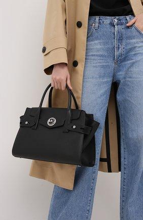 Женская сумка carmen MICHAEL MICHAEL KORS черного цвета, арт. 30S0SNMS3L | Фото 2