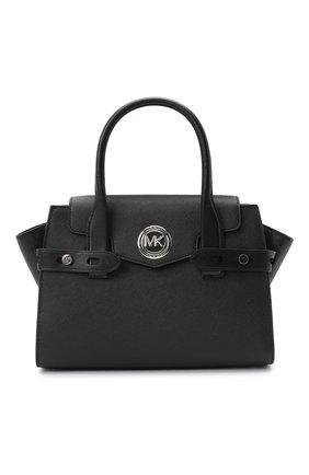 Женская сумка carmen small MICHAEL MICHAEL KORS черного цвета, арт. 30S0SNMS0L   Фото 1