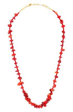 Женское колье reef ANNI LU красного цвета, арт. 191-20-41 | Фото 1