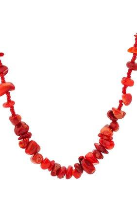 Женское колье reef ANNI LU красного цвета, арт. 191-20-41 | Фото 2