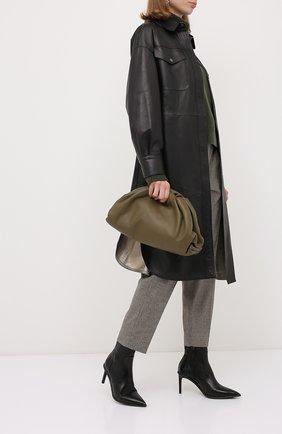 Женские кожаные ботильоны BRUNELLO CUCINELLI черного цвета, арт. MZNSC1884P | Фото 2 (Подошва: Плоская; Каблук высота: Высокий; Материал внутренний: Натуральная кожа; Материал внешний: Кожа; Каблук тип: Шпилька)