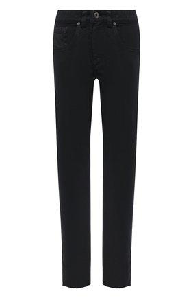Женские джинсы BRUNELLO CUCINELLI черного цвета, арт. MPH43P5524   Фото 1