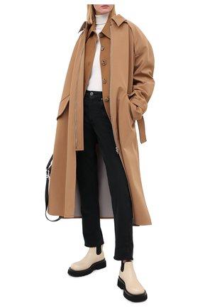 Женские джинсы BRUNELLO CUCINELLI черного цвета, арт. MPH43P5524   Фото 2