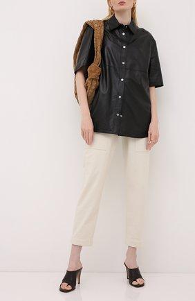 Кожаная рубашка | Фото №2