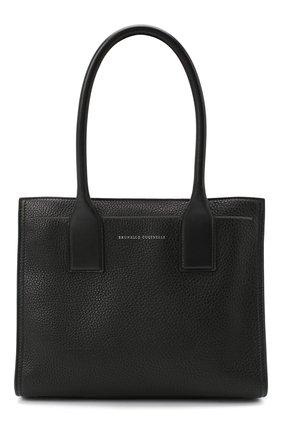 Женская сумка BRUNELLO CUCINELLI черного цвета, арт. MBVND2245P | Фото 1
