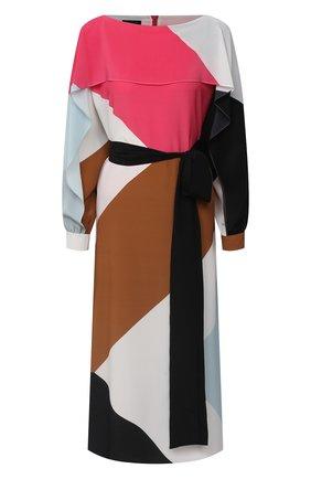 Женское шелковое платье ESCADA розового цвета, арт. 5033909 | Фото 1