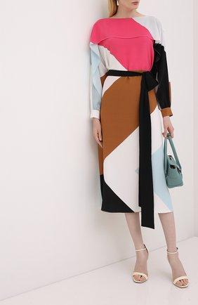 Женское шелковое платье ESCADA розового цвета, арт. 5033909 | Фото 2